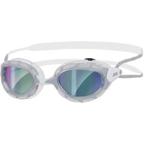 Zoggs Predator Gafas, grey/white/mirror